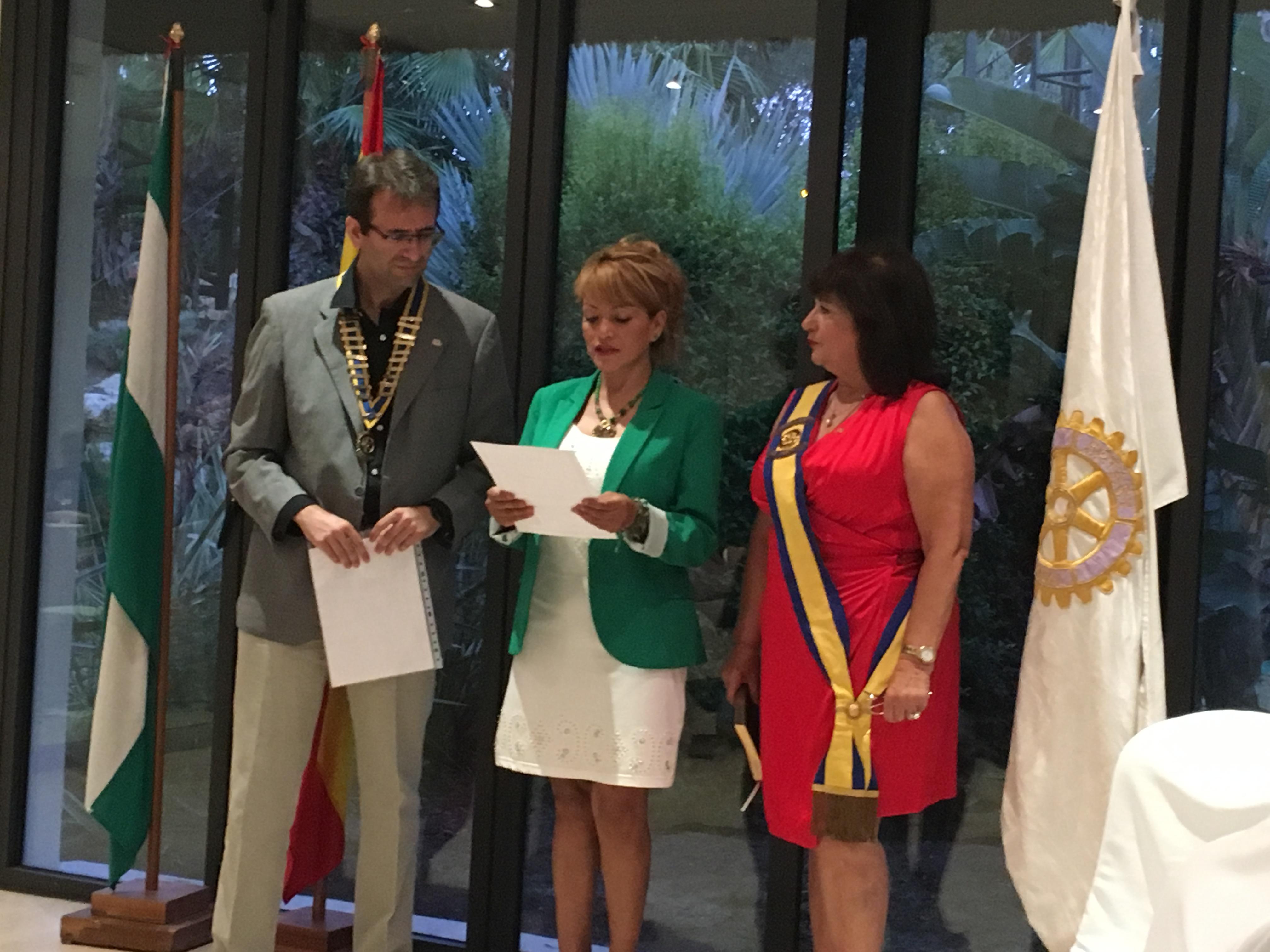 Candidatos del distrito a Rotarios