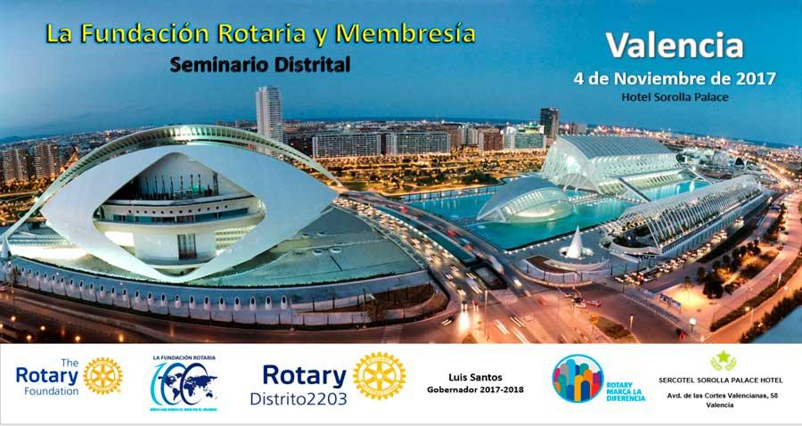 Seminario de la Fundación Rotaria y la Membresía Valencia