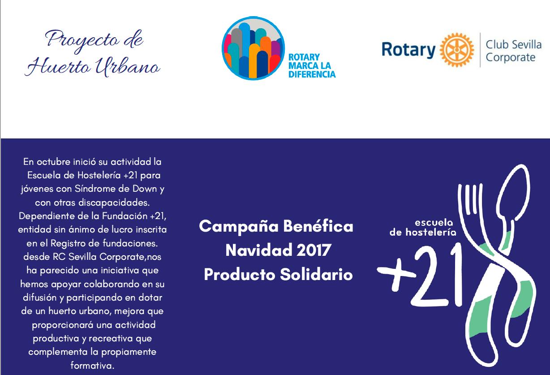 RC Sevilla Corporate con la Fundación +21