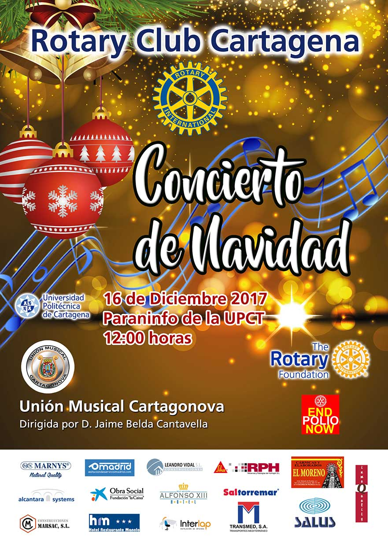 rc cartagena concierto navidad