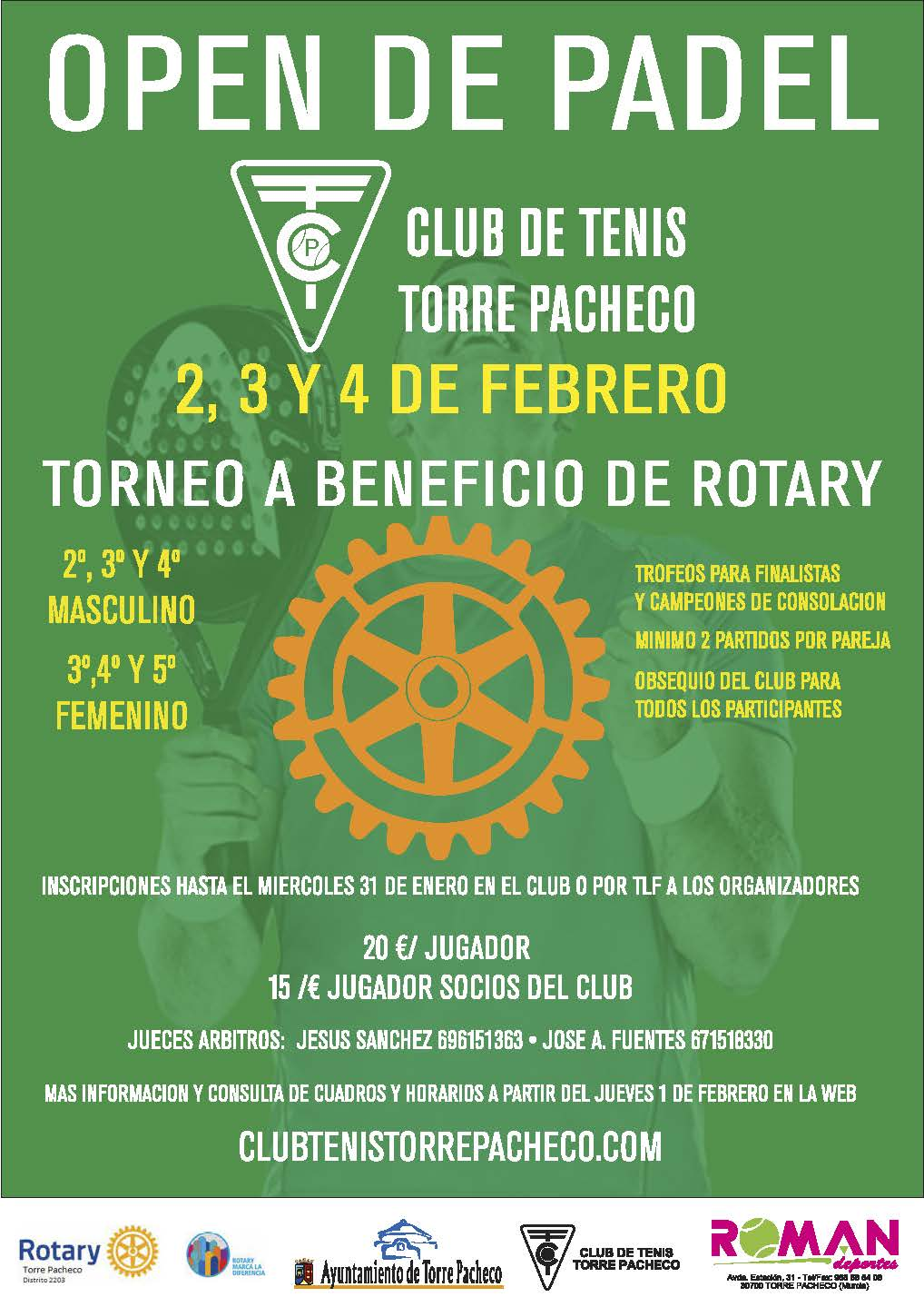 Padel torre pacheco