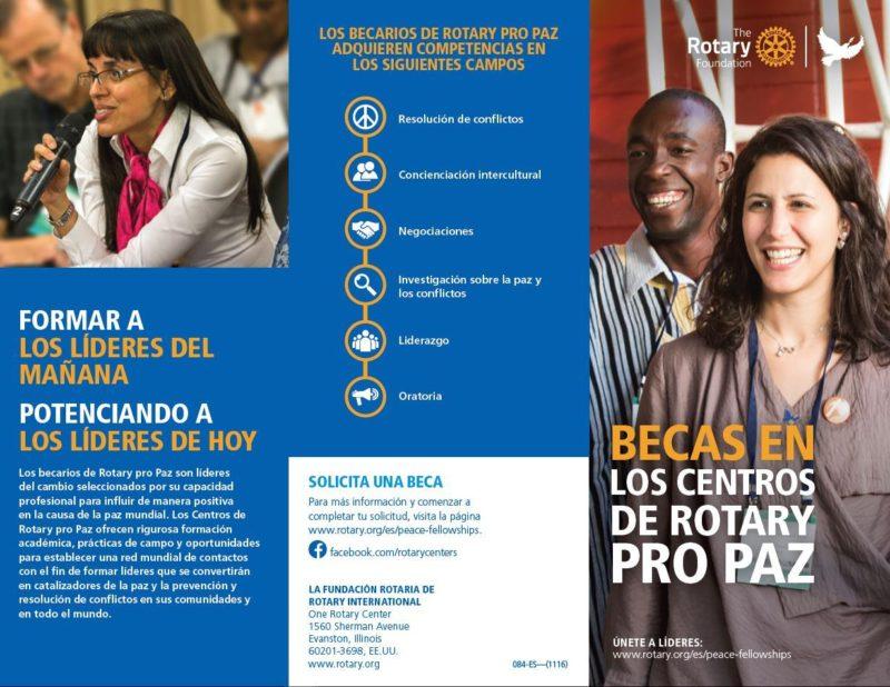 Becas pro paz rotary distrito 2203