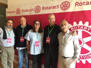 Gobernadores 2203 con rotaract