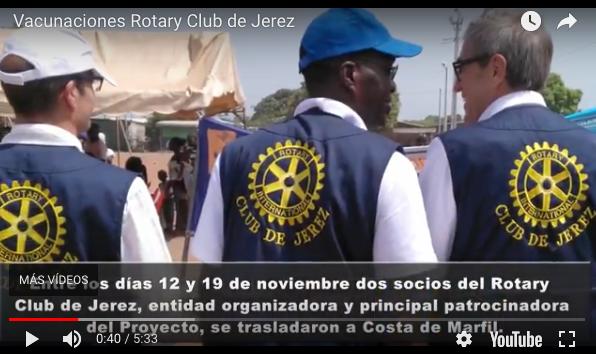 RC Jerez: Campaña Vacunación Costa de Marfil