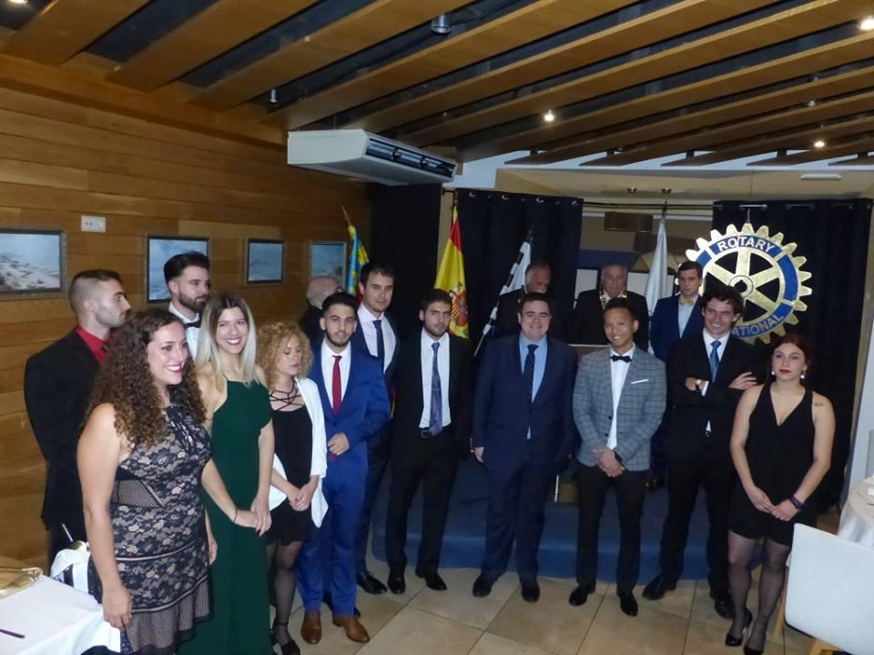 Los jóvenes del Rotary Club Torrevieja, arrancan con fuerza.