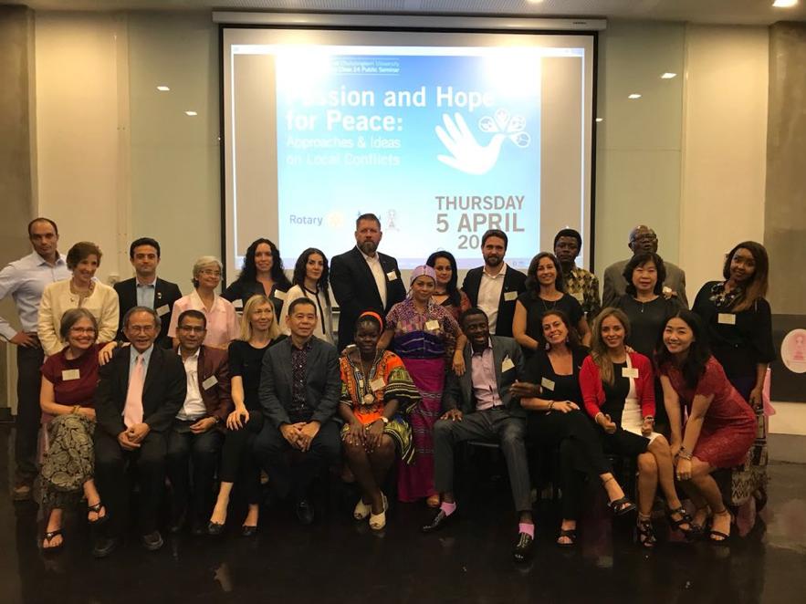 Las Becas Pro Paz de Rotary: tejiendo una red comprometida.