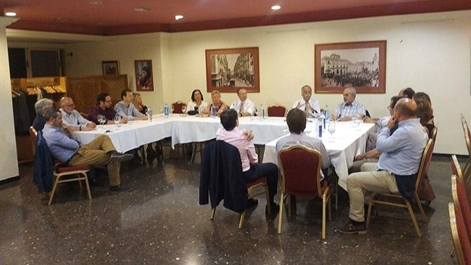 Cumbre rotaria en Alcoy para el inicio oficial del Rotary Club Alcoy Font Roja