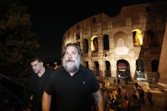 Rotary International presenta Gladiator en el Coliseo de Roma