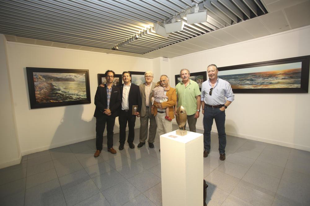 Éxito de la subasta de arte en Alicante para la Fundación Rotaria