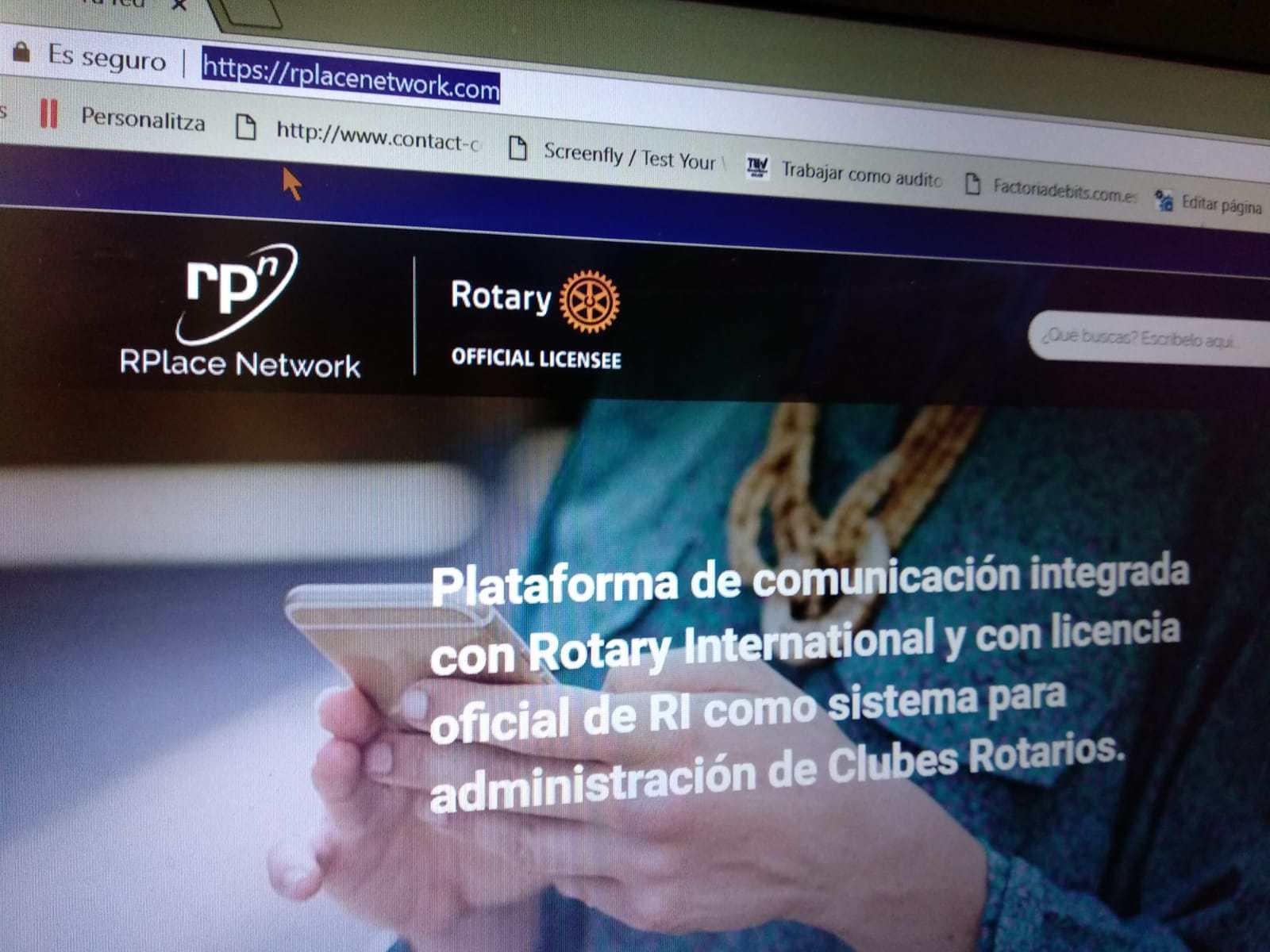 RPlace Network : La herramienta tridistrital para gestionar los datos de los rotarios españoles