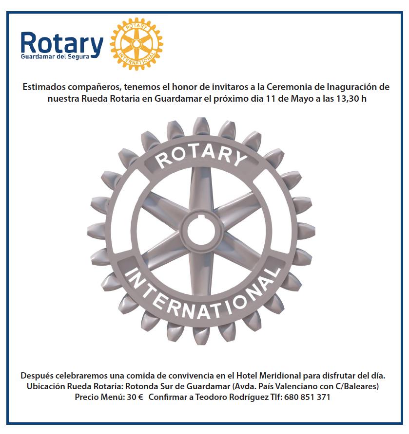 Nueva rueda rotaria en RC Guardamar