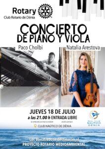 rotary club denia, concierto de verano 2019