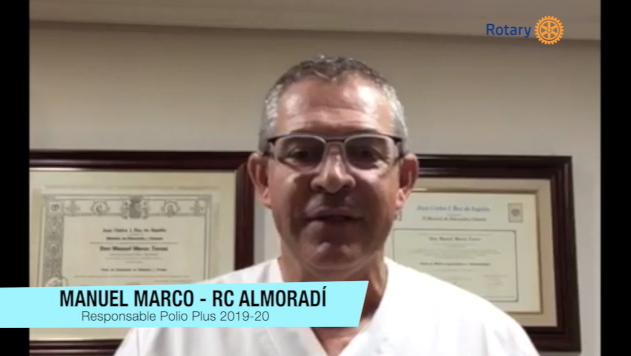 Presentación Boletín Polio Plus por Manuel Marco