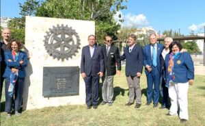 Inaguración rueda rotaria en Palma de Malloca