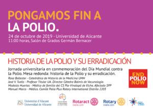 Jornada sobre la polio UA