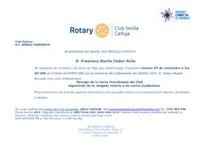 RC Cartuja Sevilla constitución