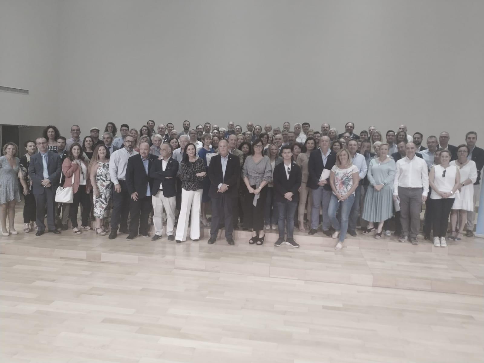Seminario celebrado en Almoradí con más de 100 socios