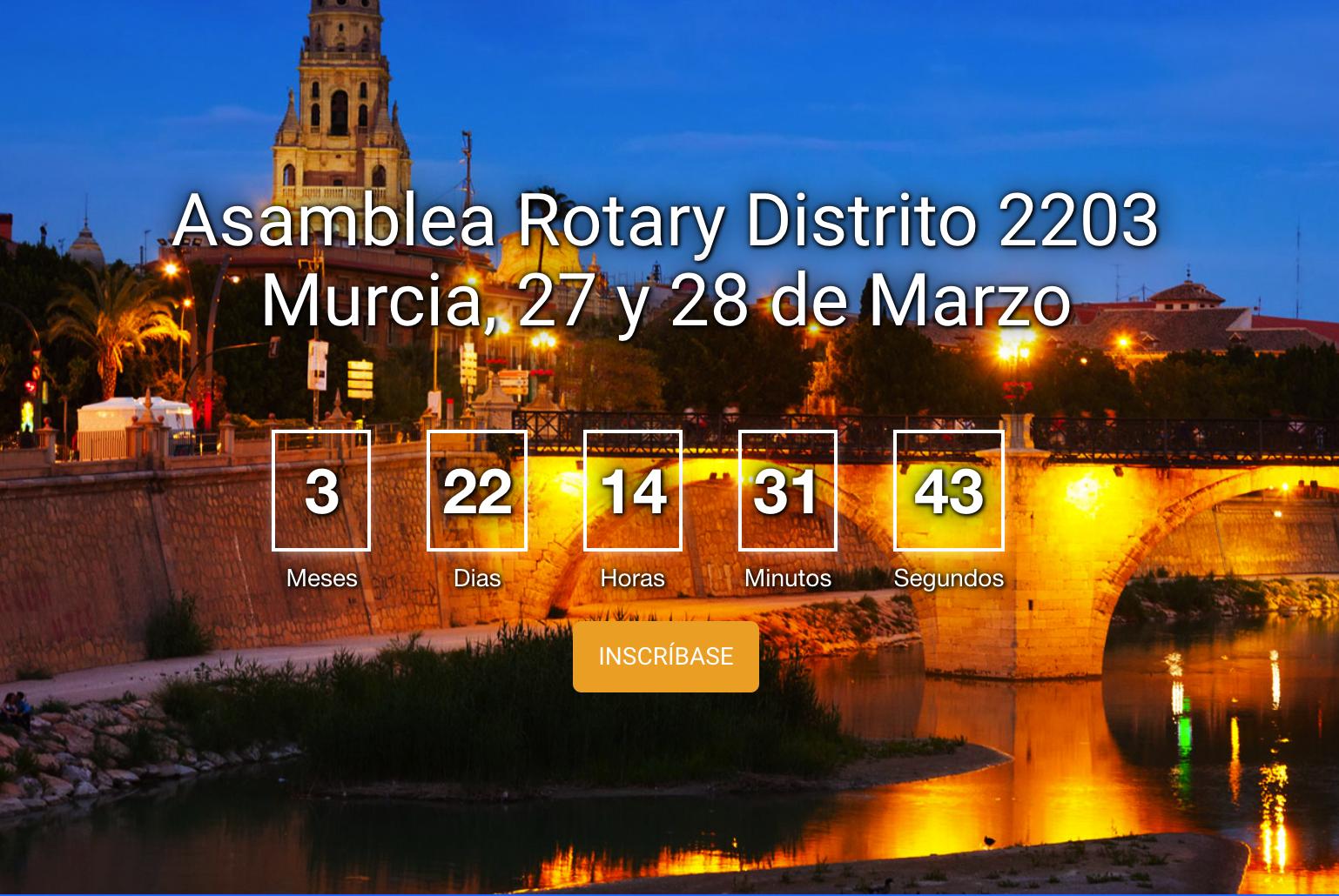 Inscripción Asamblea de Murcia de Ricardo Molina GGDE 2020-21