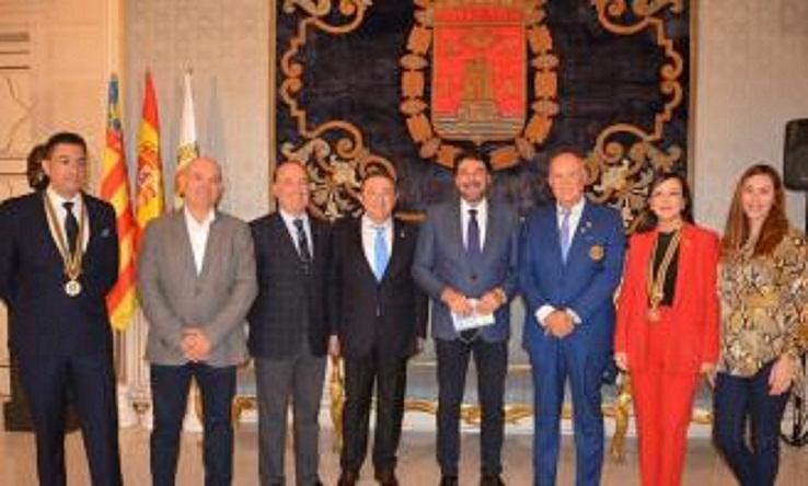 Arturo Alagón visita al Alcalde de Alicante