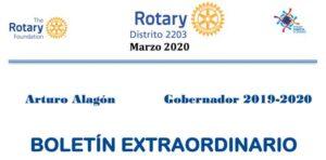 Covid-19 fundación rotaria