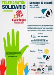 telemaratón solidario rotary club alcoy