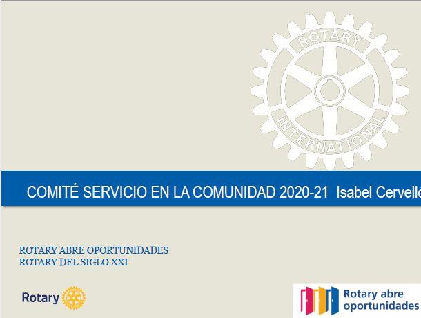 Grupos Rotarios para el fomento de la comunidad y Becas